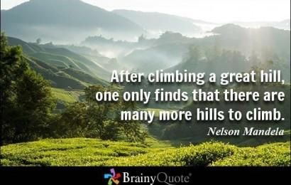 Climbing A Great Hill – #MandelaDay #JobAdviceSA Chat 18 July 2016